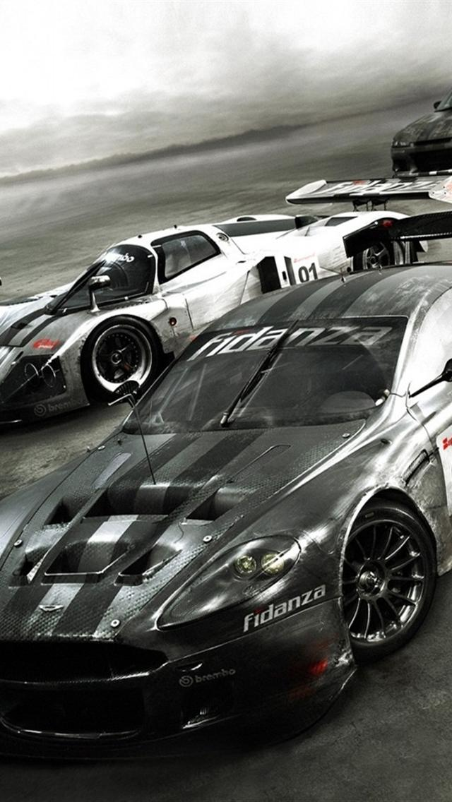 iphone 5 wallpapers hd  speed race car wallpapers