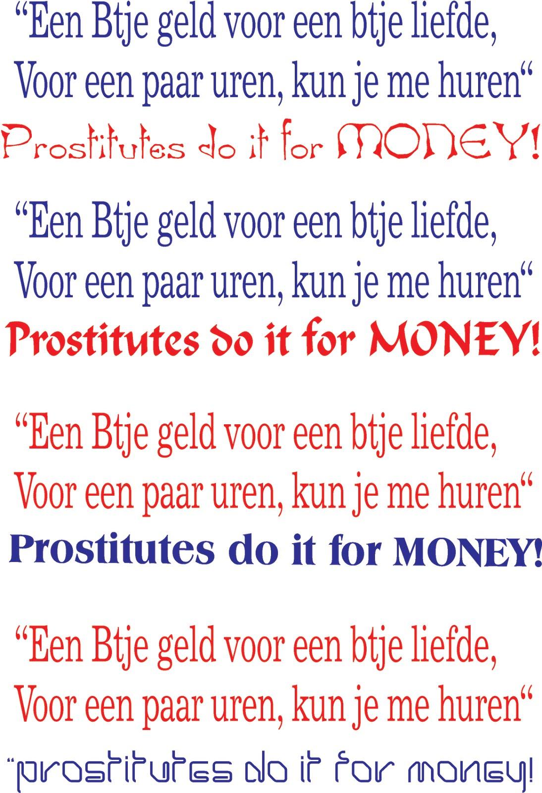 huur een prostituee