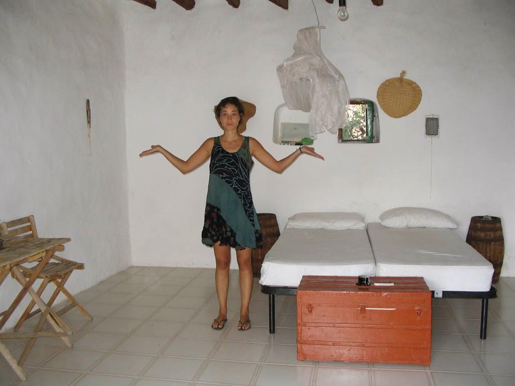 Interior de casa típica na Sicilia