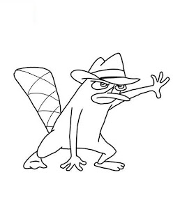 Krafty Kidz Center: Phineas and Ferb coloring pages