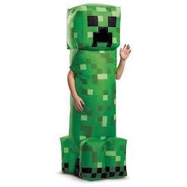 Minecraft Disguise Creeper Inflatable Costume Gadget
