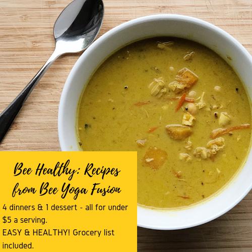 Bee Healthy: Recipes from Bee Yoga Fusion