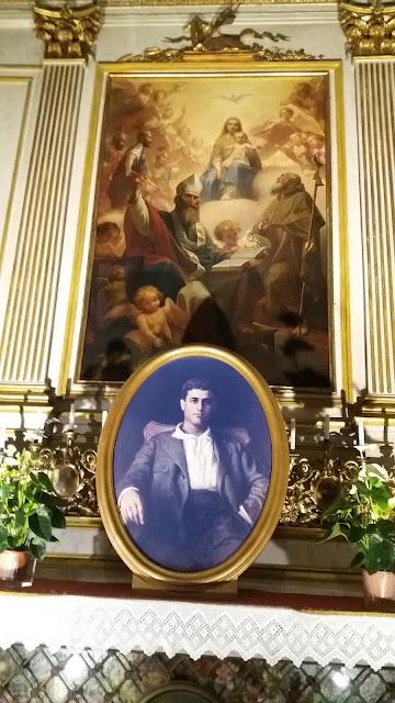 Duomo di Torino, immagine di beato Pier Giorgio Frassati