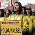 Polwan Polda Kalsel Ikuti Kejuaran Menembak di Bali
