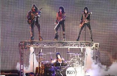 KISS en concierto