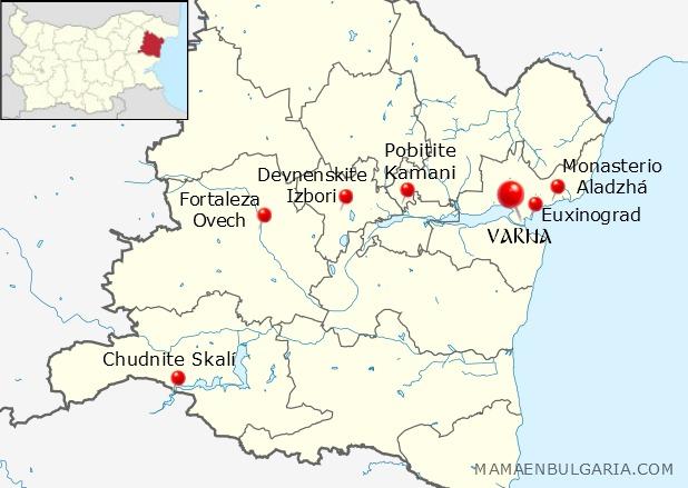 Qué ver en la provincia de Varna, Bulgaria
