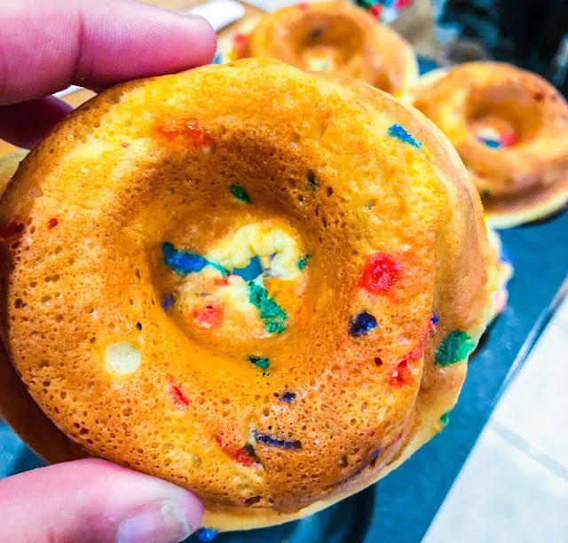 High Protein Funfetti Donuts (Grain Free + Keto Friendly)