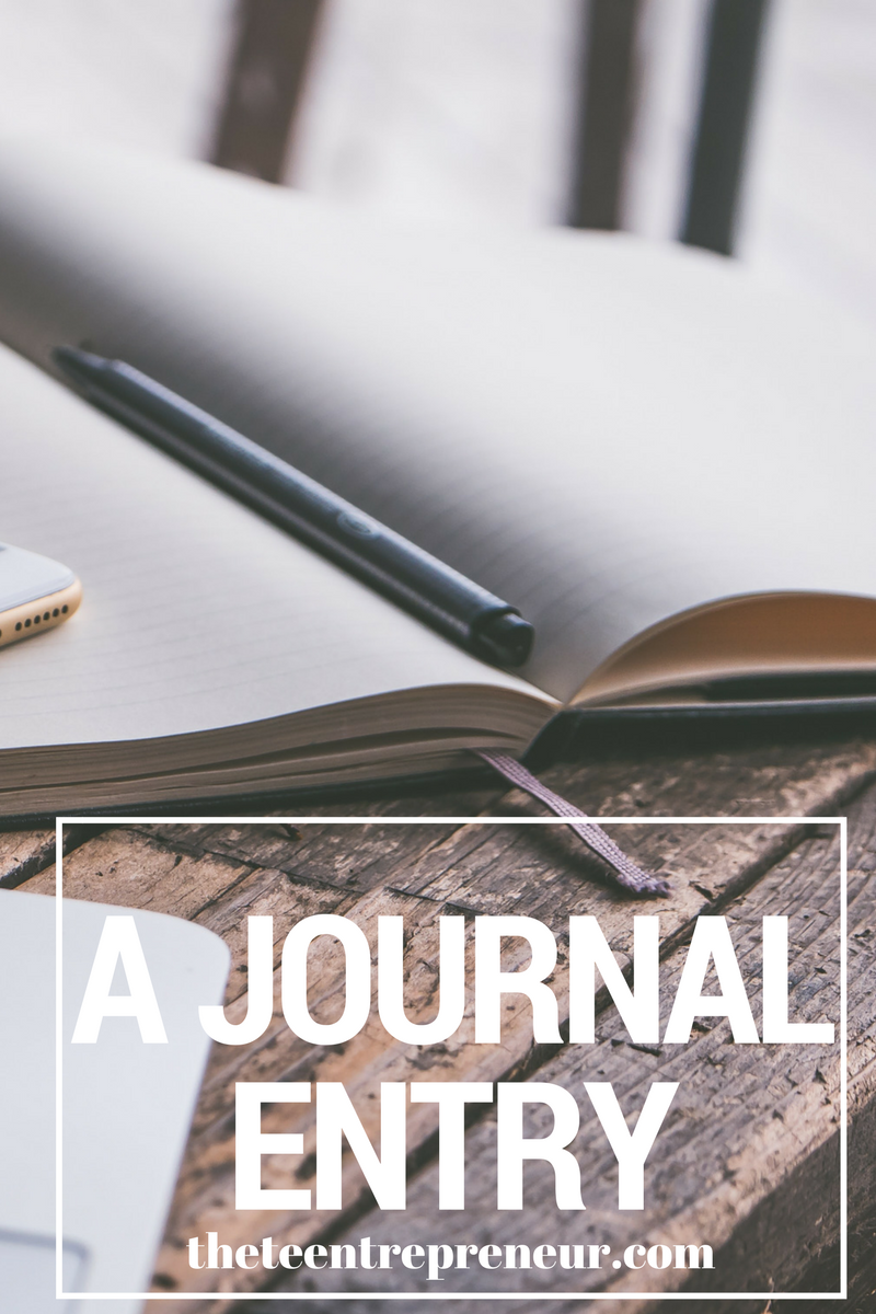 Month VIII - A journal entry.