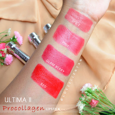 ultima II procollagen lipstick review