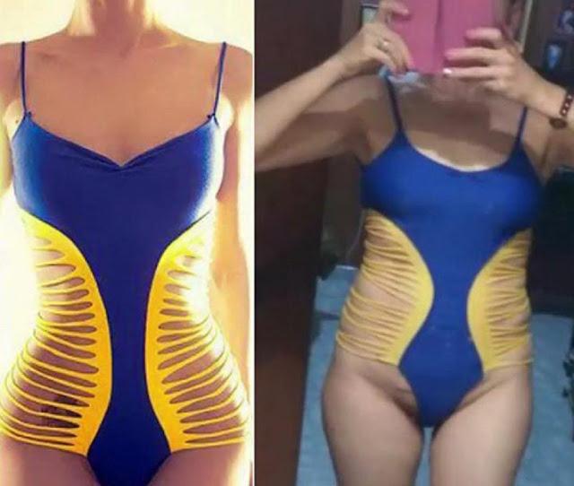 10 photos qui prouvent qu'il ne faut pas acheter ses vêtements sur des sites douteux. Surtout la 9éme