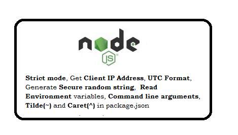 Nodejs Interview Questions and Answer 1 year Expereince
