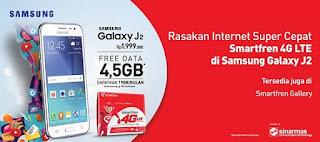 Promo Smartfren Bundling Samsung Galaxy J2