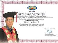 """UNA Raih Akreditas """"B"""", Rektor Ibnu Hajar: Ini Bukti Kesungguhan Kami"""