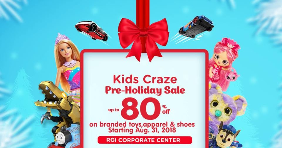 Manila Shopper: Kids Craze Pre-Holiday Warehouse SALE: September 2018