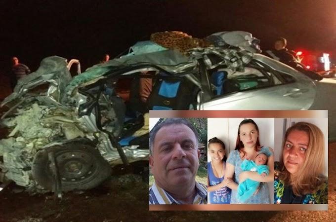 Tragédia: Após participar de velório, família inteira morre em grave acidente na BR 163. VEJA VÍDEO