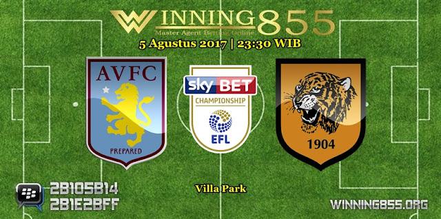 Prediksi Skor Aston Villa vs Hull City