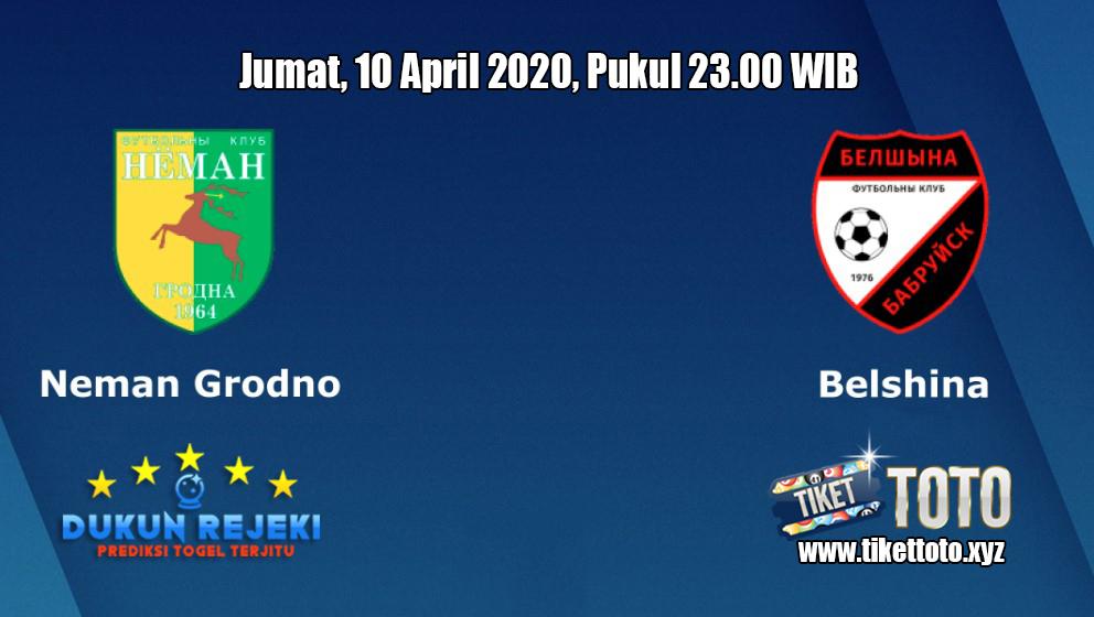 Prediksi Neman Grodno VS Belshina 10 April 2020