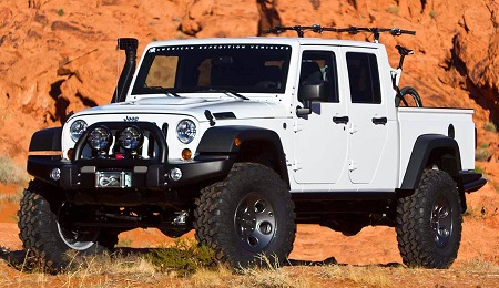 Mobil Jeep Wrangler D-Cab Brute
