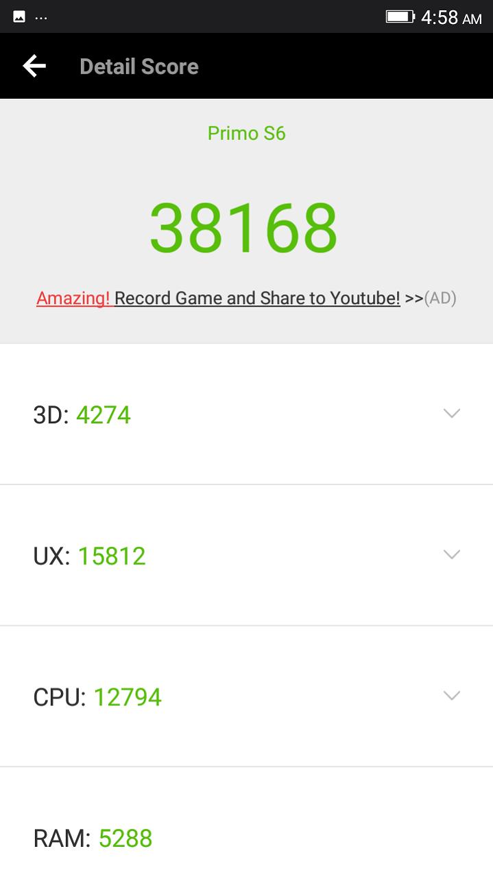 Primo S6 review AnTuTu Benchmark GeekBench Score হ্যান্ডস-অন রিভিউঃ দারুণ সেলফি ক্যামেরা আর লেটেস্ট ফিচারের Walton Primo S6