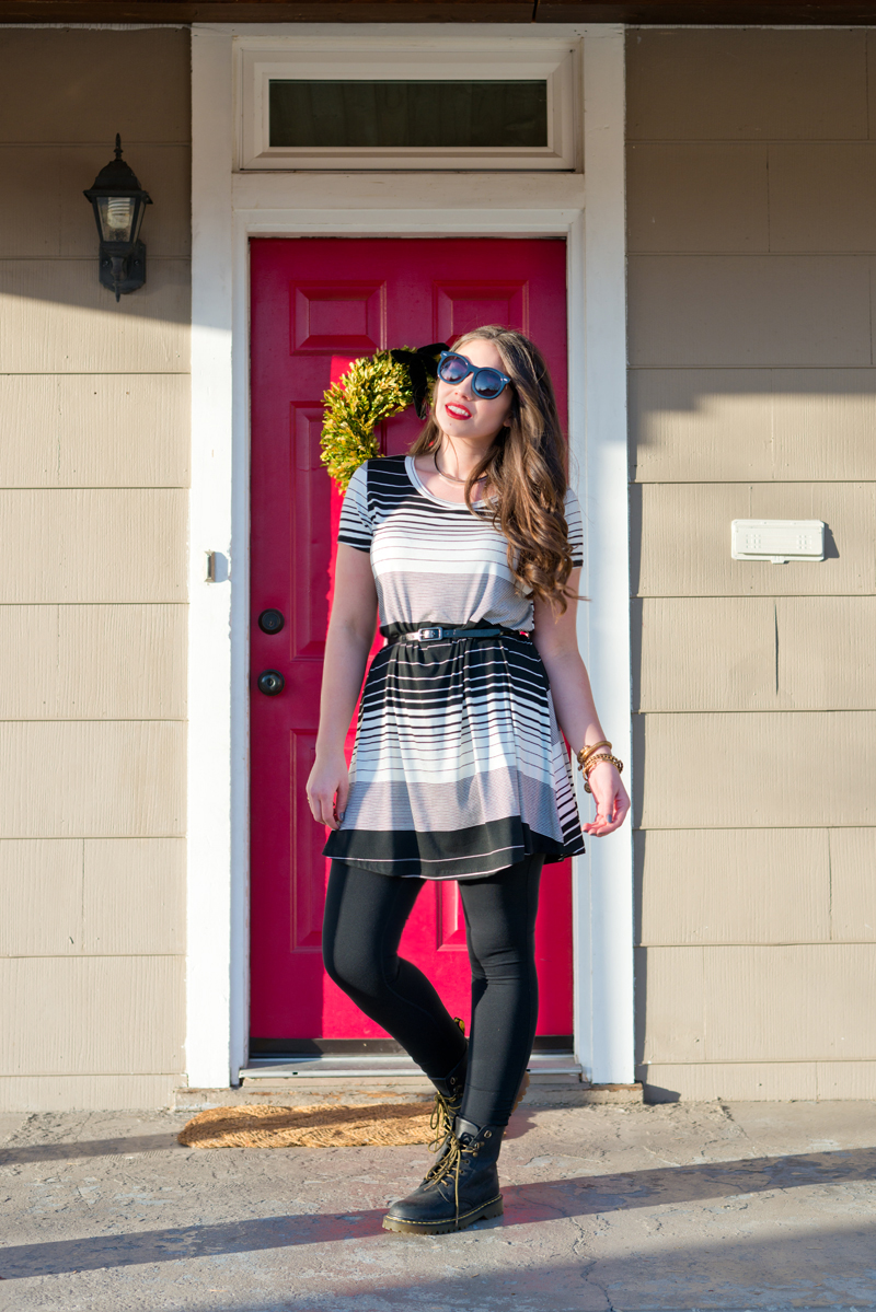 grungy spring look