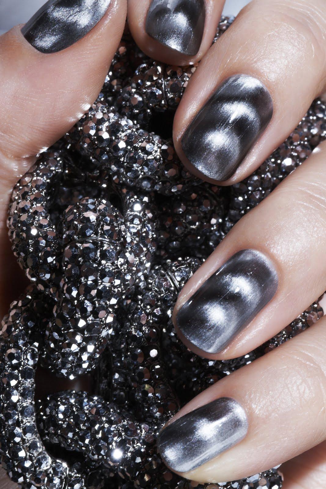 Magnetic Nail Polish (yes Really!)