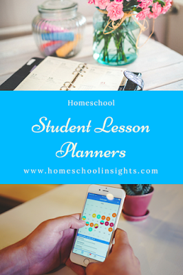 Homeschool Student Lesson Planners