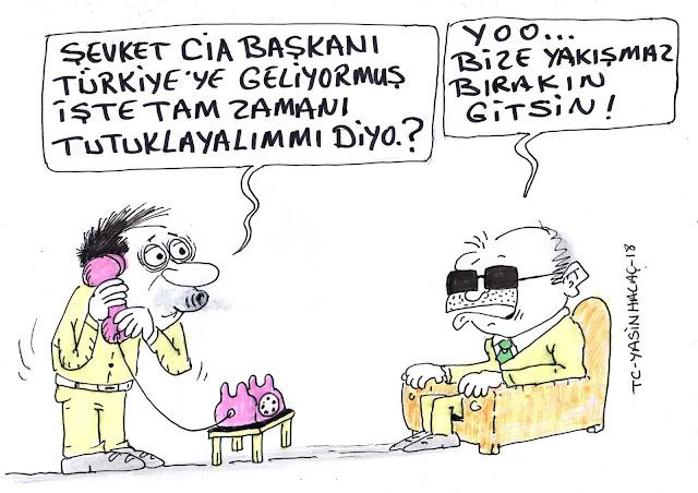 cia başkanı karikatür