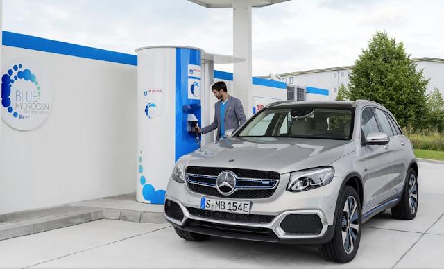 Mercedes-Benz GLC F-Cell new double-way electric hybrid plug-in hybrid