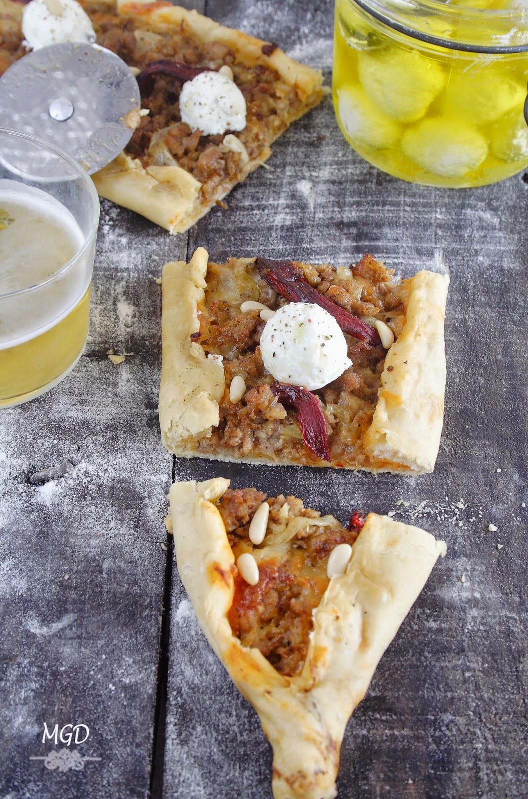 Lahmacun - Pizza Turca con labneh mi gran diversion