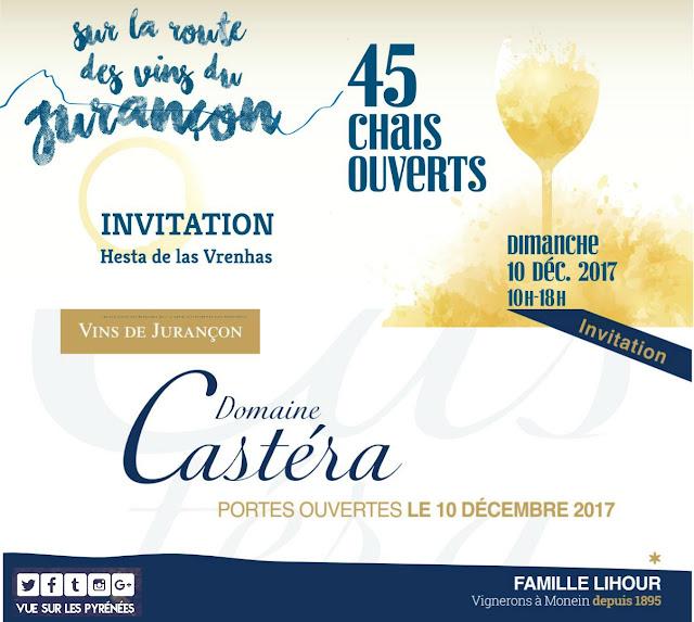 Route des Vins du Jurançon Domaine Castéra 2017