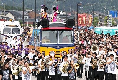Himi Matsuri (summer festival), Himi City, Toyama Pref.