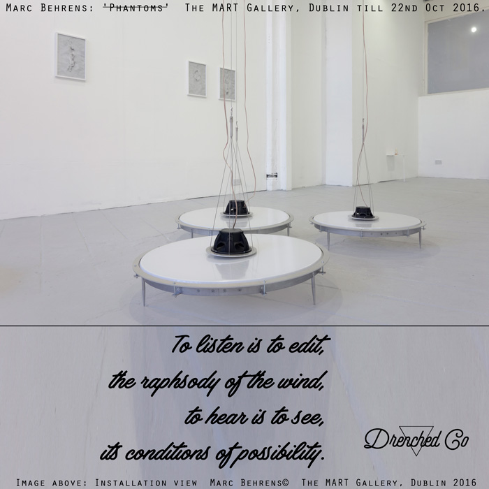 Image of The MART Gallery, Dublin with art exhibition review by Drenched Co.