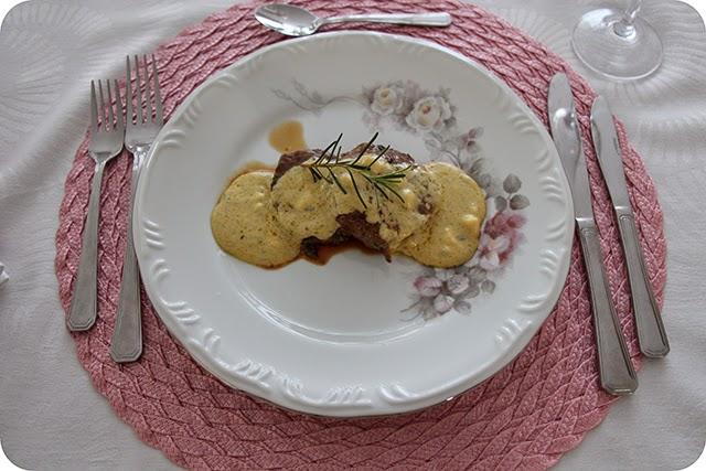 Filé Mignon ao Molho de Gorgonzola
