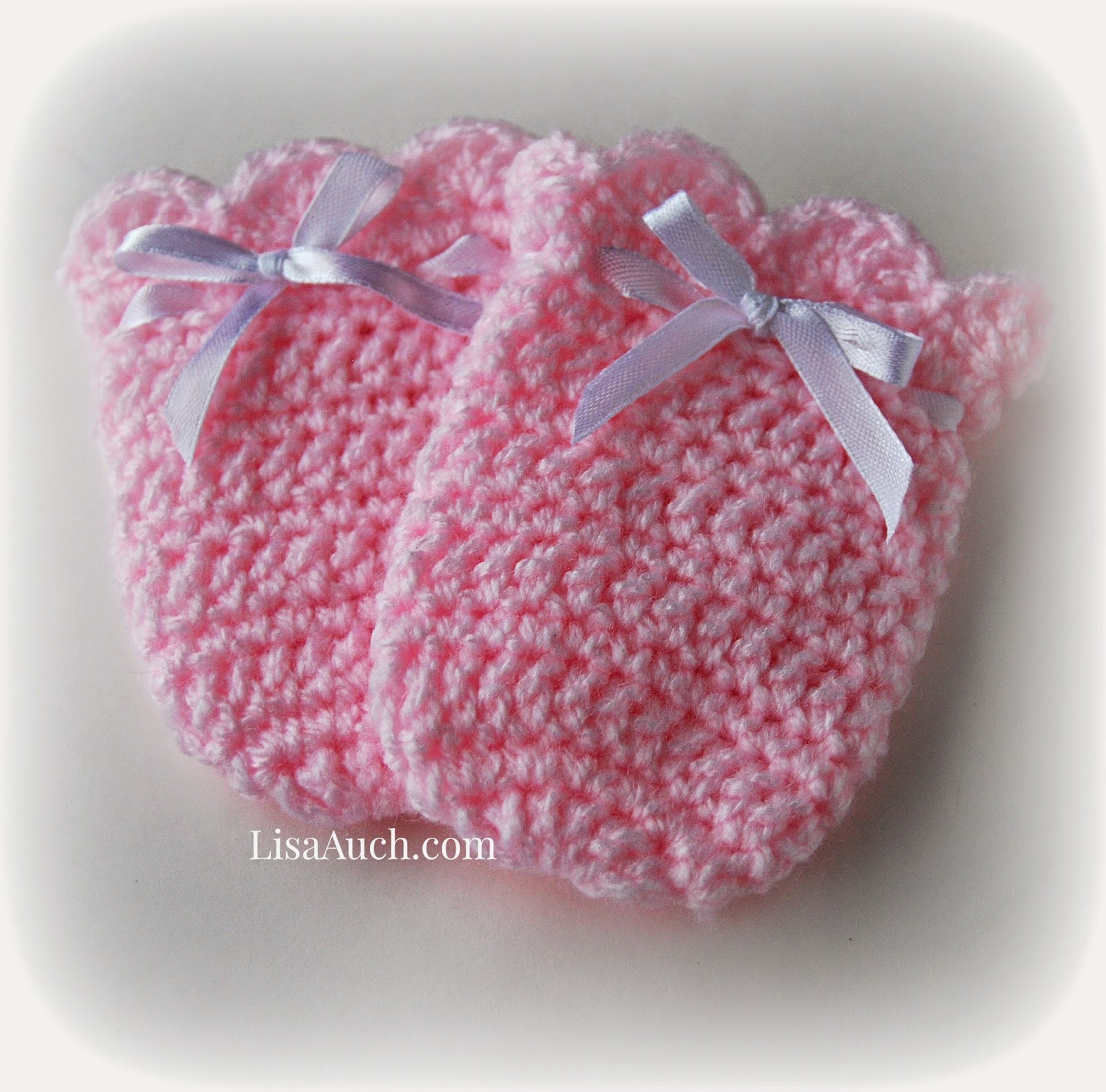 Free Crochet Patterns And Designs By Lisaauch Crochet Baby Mittens