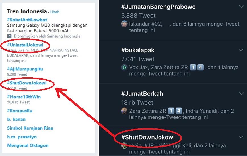tagar #shutdownjokowi