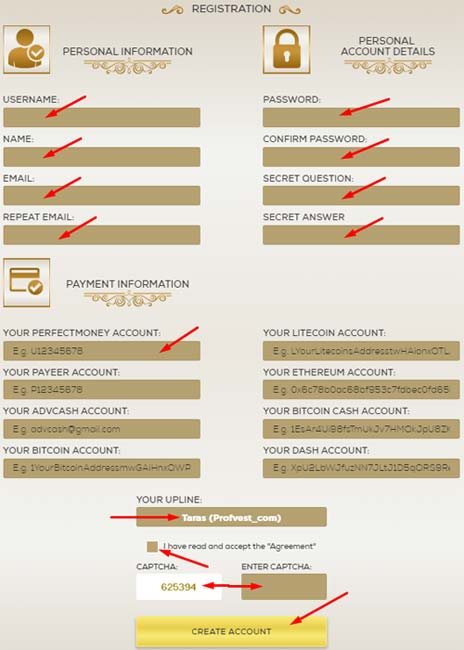 Регистрация в Luxearn 2