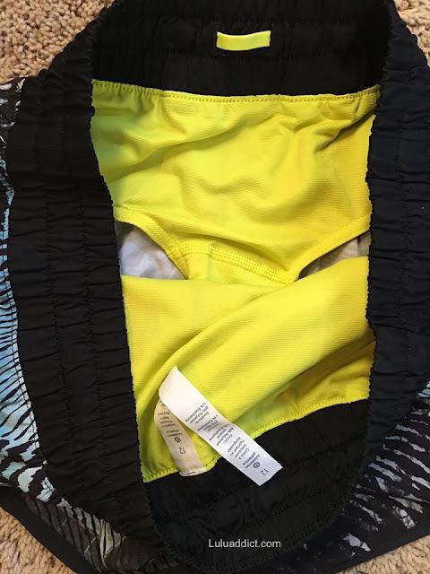 lululemon seawheeze-2016 shorts-liner