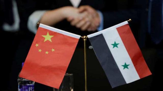 وزيرة سورية الصين مرحب بها في اعادة الاعمار.؟
