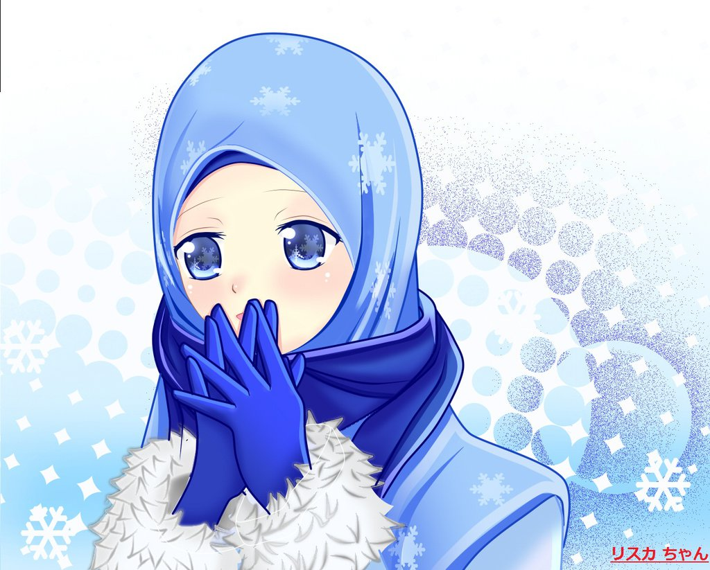 Kumpulan Gambar Kartun Muslimah Cantik Terbaru Kantor Meme