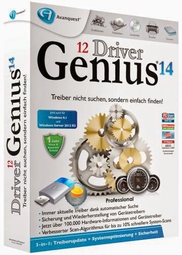 Driver genius professional 14. 0. 0. 345 full + cracked   best 4 pc.