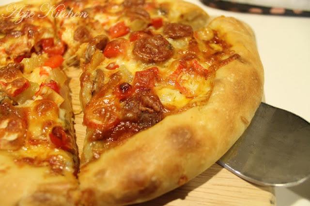 Stuffed Crust Pizza Dough