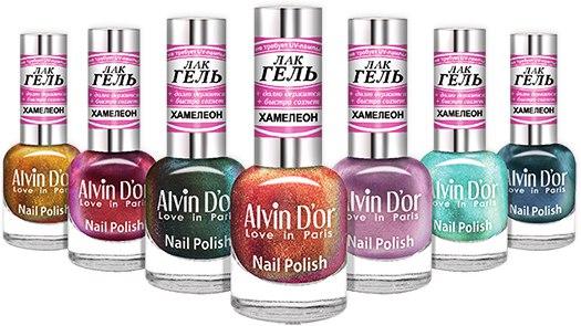 Alvin dor лак для ногтей