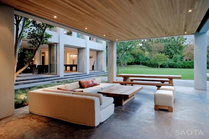 World of Architecture: Contemporary Villa by SAOTA In ...