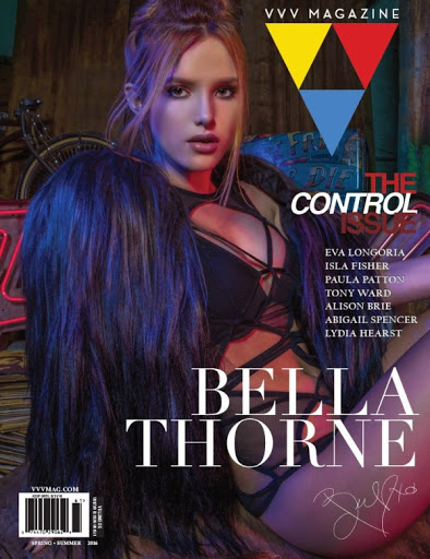 bella thorne hot models photo shoot for vvv magazine