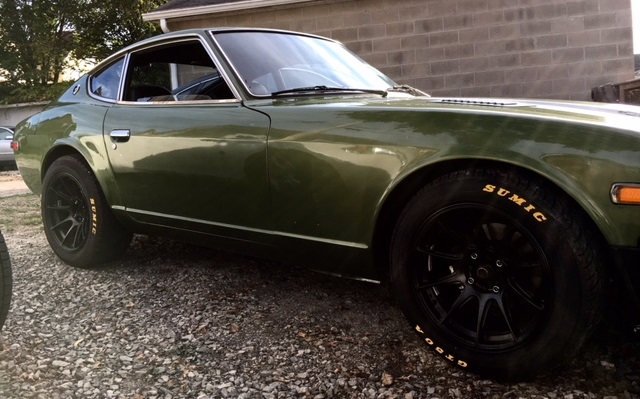 66 Auto Color 1974 Datsun 260z Back To Life Via Spray