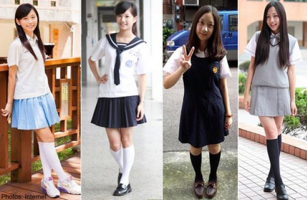 Taiwan Girl School Uniform