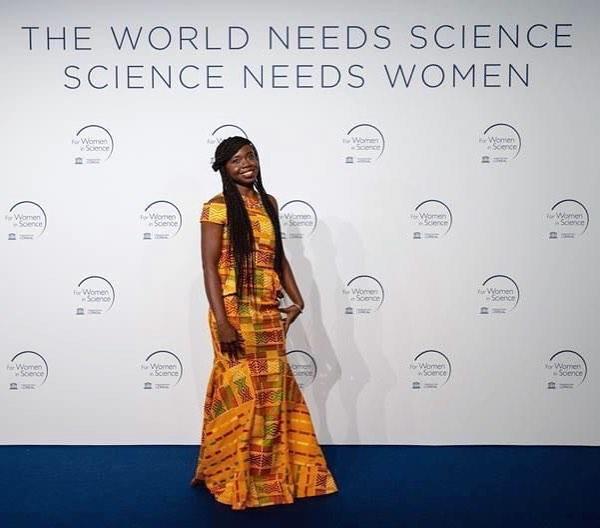 Ghanaian female scientist, Dr. Priscilla Kolibea Mante receives international award for research