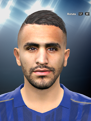 Ryad Mahrez PES2016 Face By DzGeNiO
