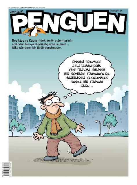 Penguen Dergisi | 22 Aralık 2016 Kapak Karikatürü