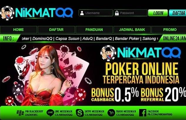 Deposit Murah Dari Situs Poker Online Terbaik Nikmatqq